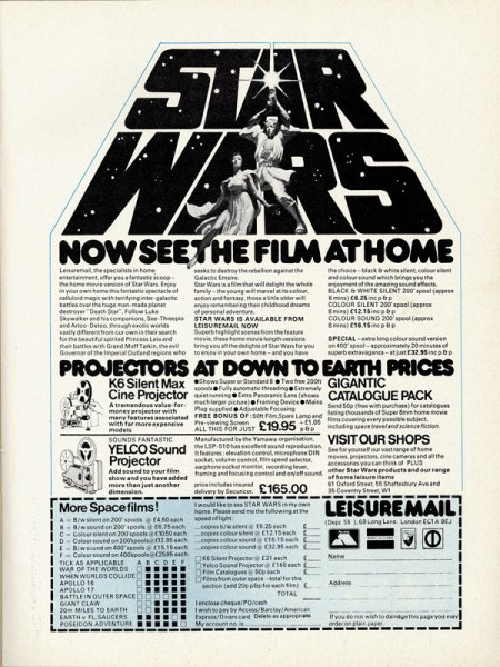 Star Wars Ad