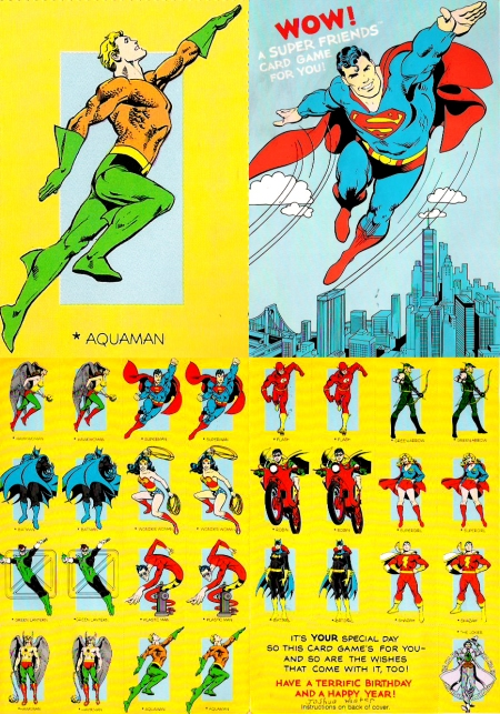 DC Superhero cards