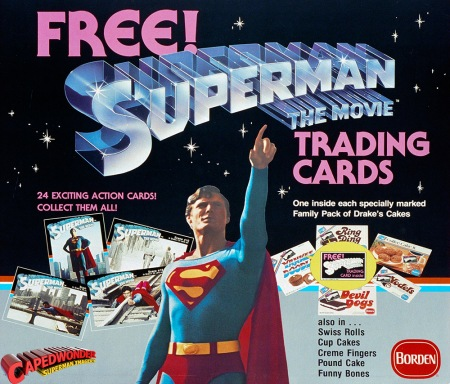 Superman Trading Cards AD!